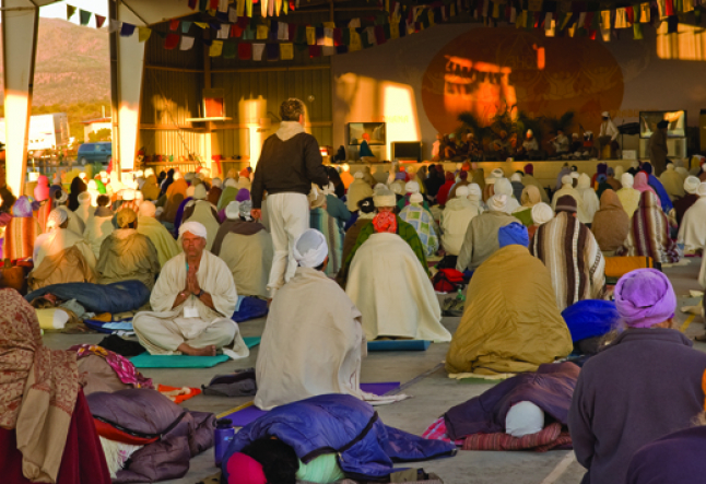 summer solstice sadhana in new mexico