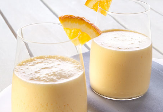 the oh-so healthy orange smoothie