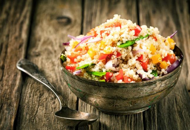 vegan mexican quinoa ceviche