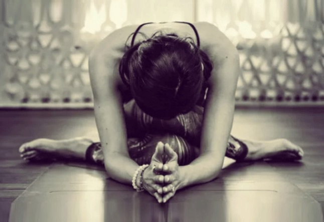 yin yoga & the art of letting go