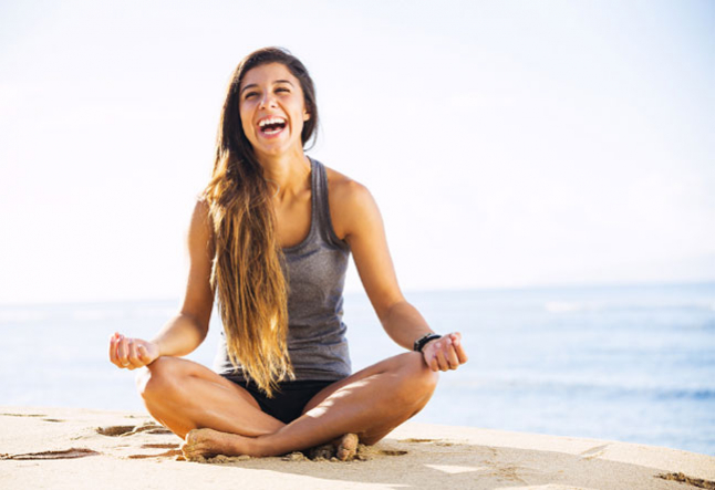 yoga laugh your way to health, happiness and success