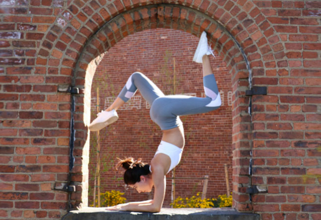 how yoga helps you to do an inversion pose