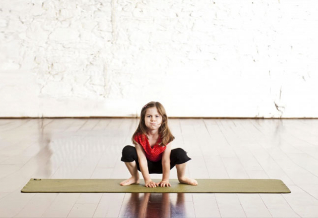 how yoga enhances focus in children