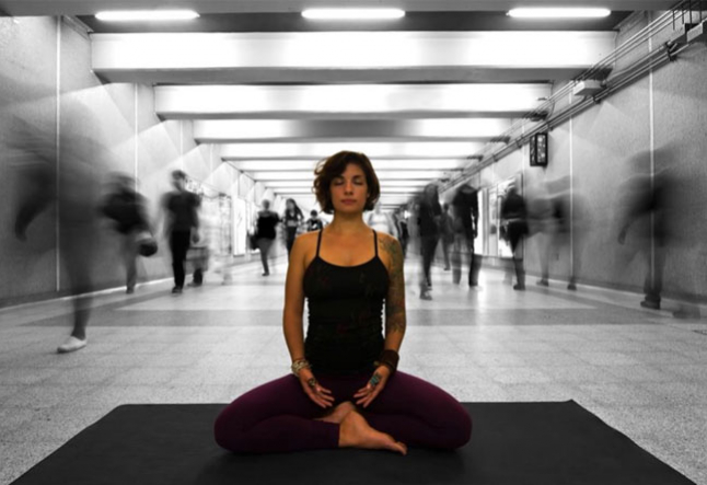 why workplace yoga is the new black