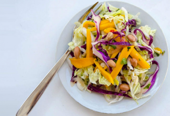 mango cabbage slaw