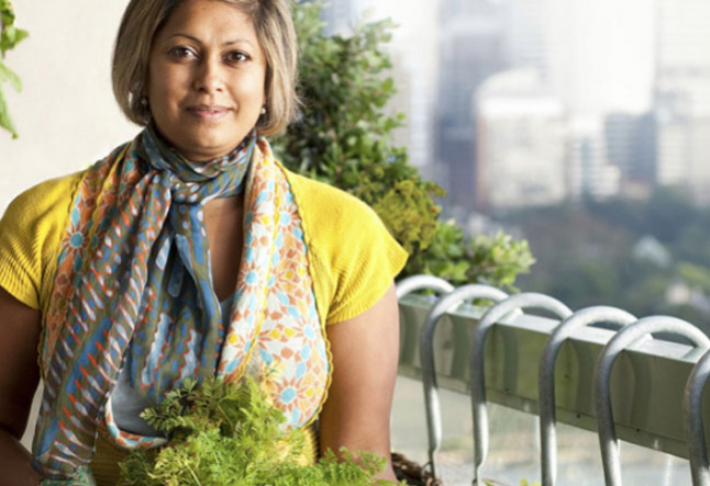 interview with gardener writer tv presenter and journalist indira naidoo