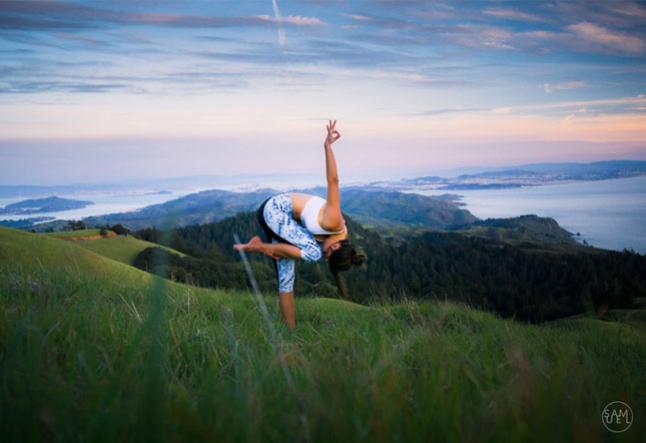 staying healthy through yoga's power