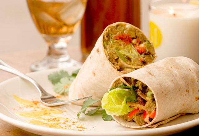 madras tempeh wraps