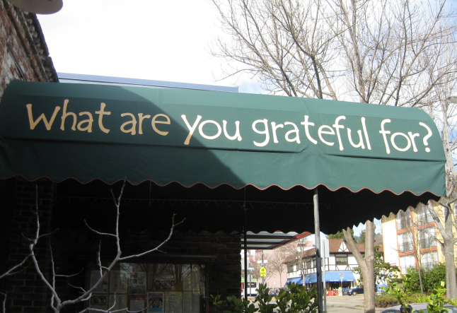 cafe gratitude is alive & well....