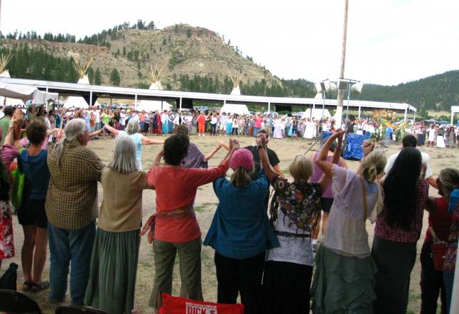 13 indigenous grandmothers gathering
