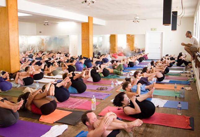 power yoga in santa monica