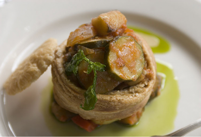 vegetable vol-au-vent