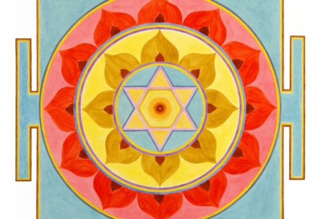 Yantra art for meditation