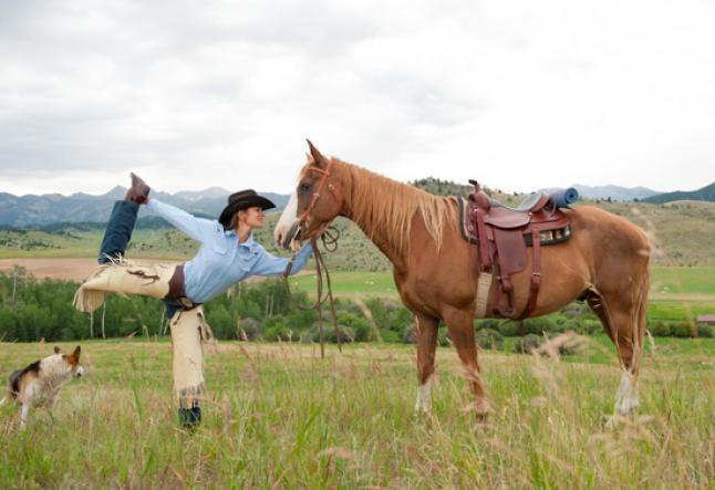 yoga for horseback riders