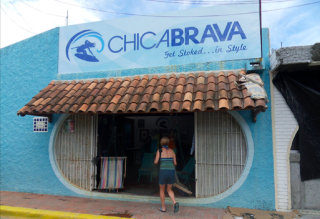 chicabrava surf camp teaches women to surf