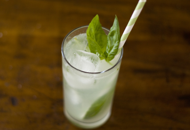 thai basil, cane sugar gin cocktail