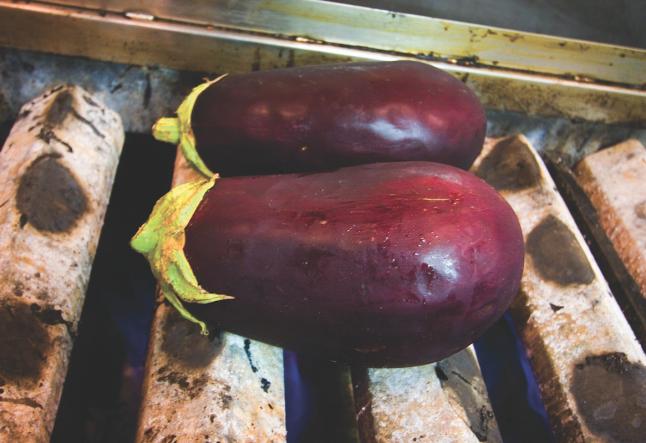 baba ganouj | roasted eggplant dip