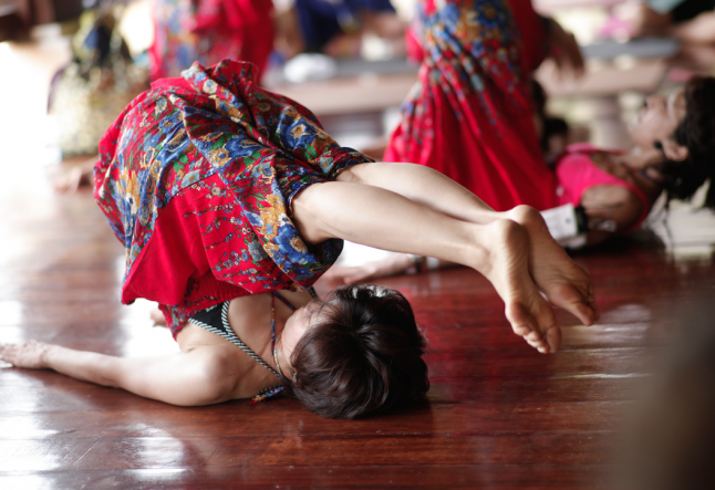 how the universe tested me in yoga class