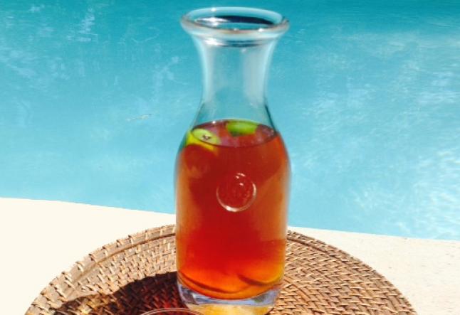 roobois lemon ice tea