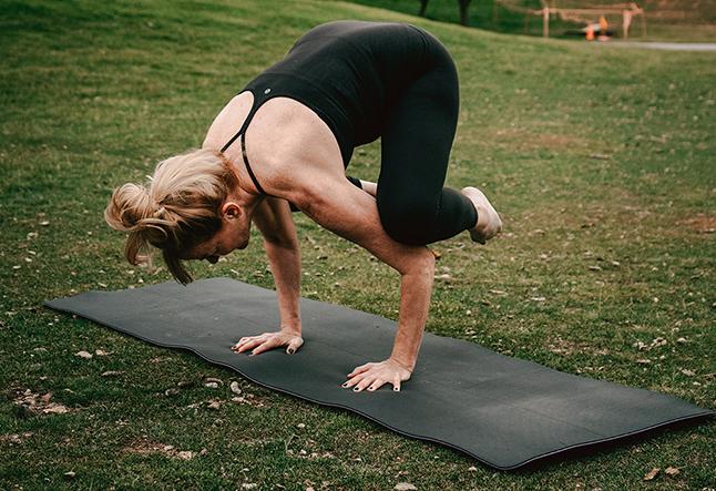 yoga for the single mom