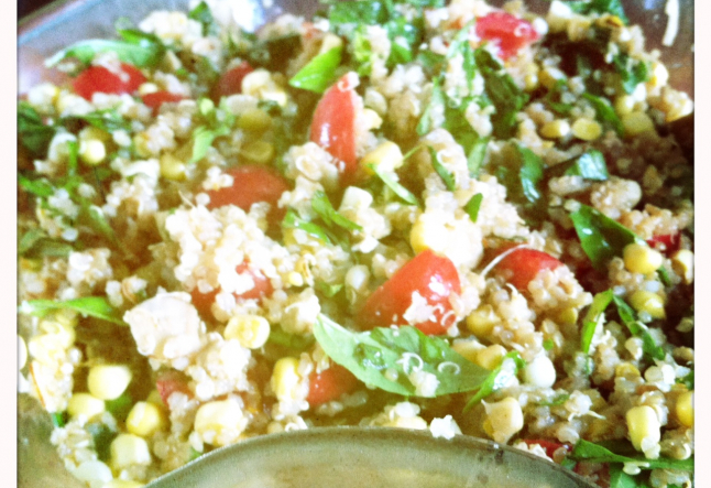 Summer Bounty Quinoa Salad