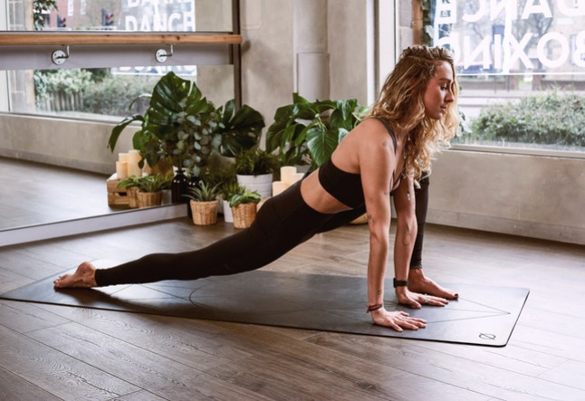 asana for female mind and body balance