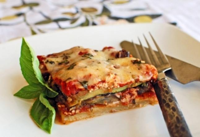 eggplant zucchini parmigiano
