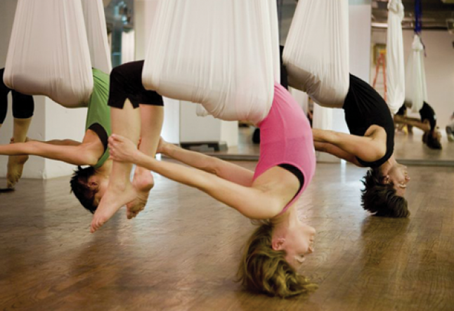 Antigravity yoga- the acrobatic yoga
