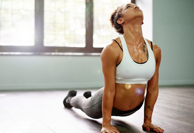 hot yoga - conducting heat to cleanse the self