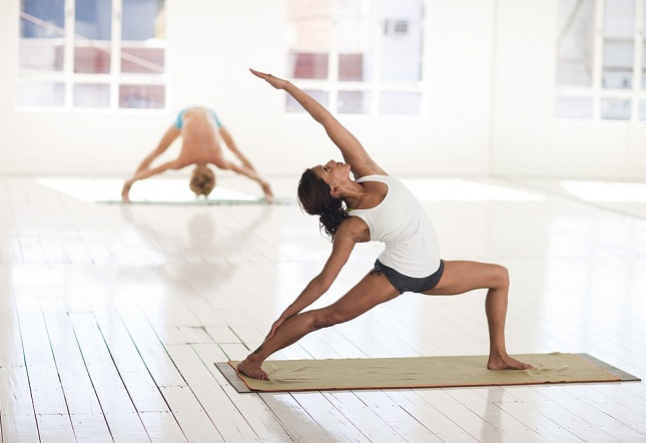 target different areas of your body with yoga
