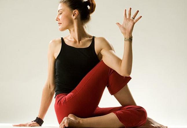 sthira sukham asana - a lovely stretch