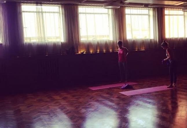 designing a yoga class