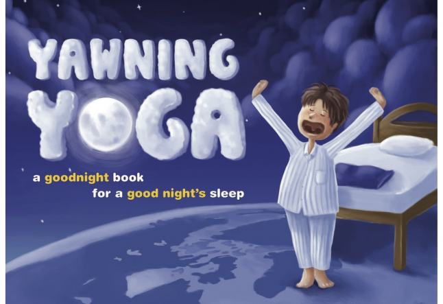 Bedtime yoga for children