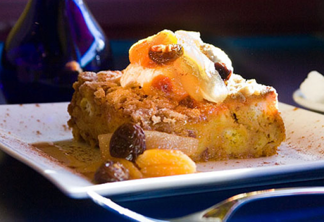 pumpkin bread pudding: super simple!