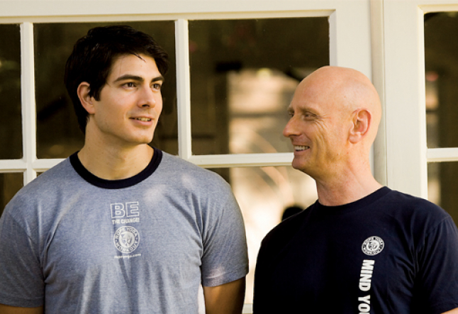 brandon routh | yoga's first superhero