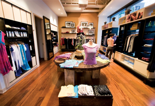 managing your yoga retail space
