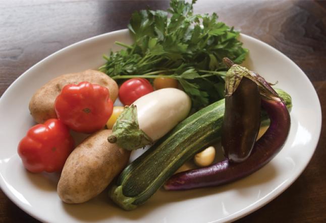 eggplant and potato stew