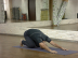 childs pose (balasana)