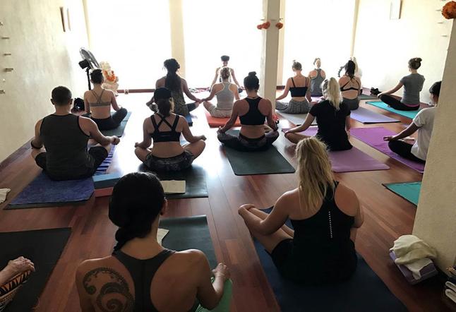 yoga studios in seminyak
