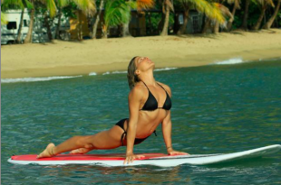 stand up paddle yoga in bali
