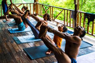 the yoga retreat