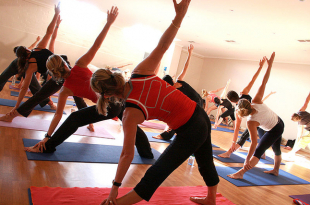 teen run club participants take up yoga to complement their training