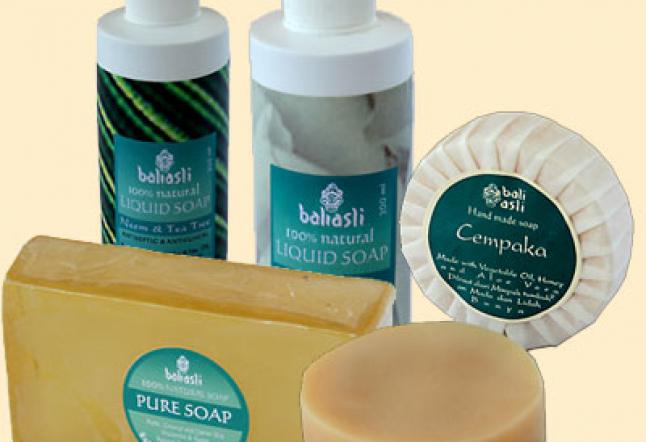bali asli liquid soap