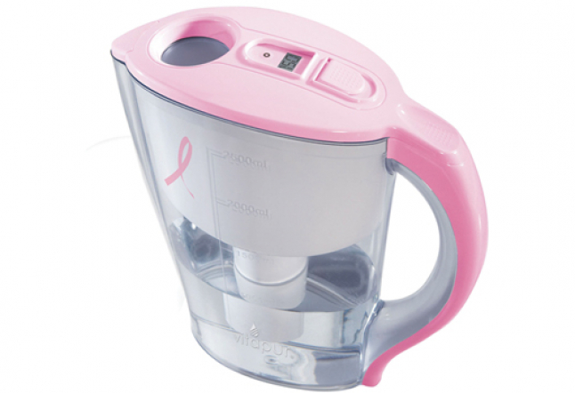 Breast Cancer Awareness Water Pitcher from Vitapur