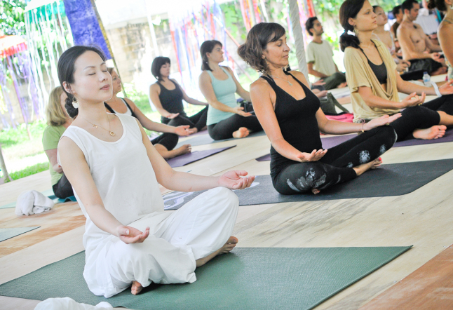 vipassana meditation retreat, bali