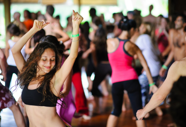 just dance … at the yogabarn