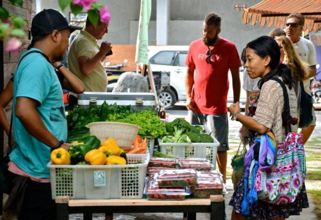 samadi organic farmer's market