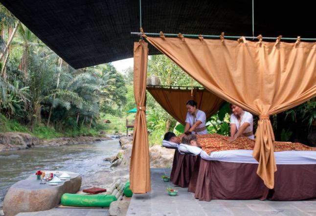 the samaya - ubud - riverside picnic lunch
