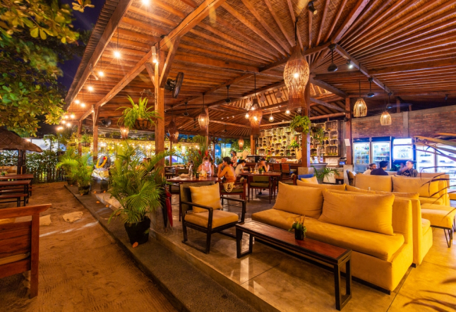 beach garden - organic kitchen