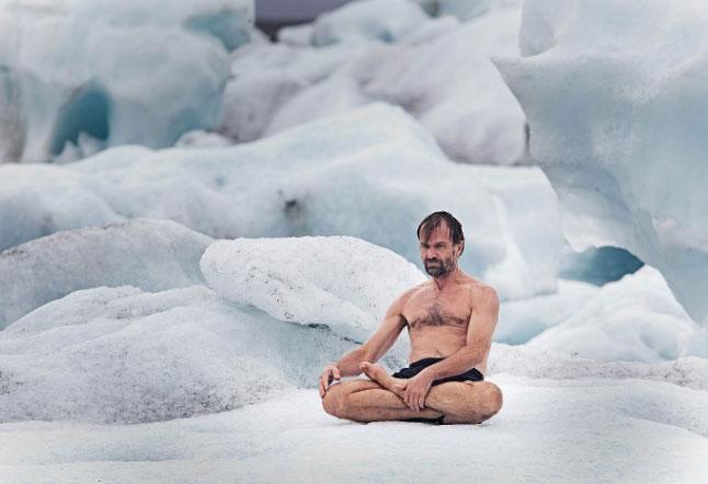 wim hof ice man workshop in ubud